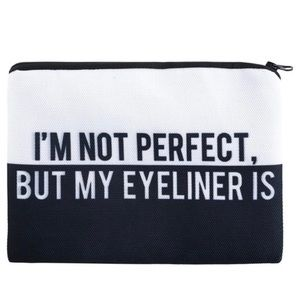 Perfect Eyeliner makeup bag